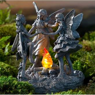 Wind & Weather Dancing Fairy Garden with Solar Fire