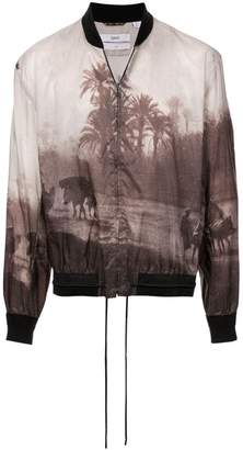 Oamc landscape bomber jacket