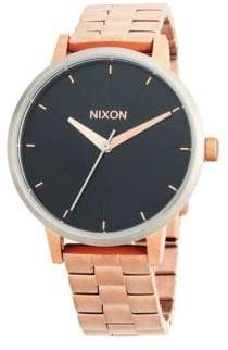Nixon Kensington Stainless Steel Quartz Bracelet Watch