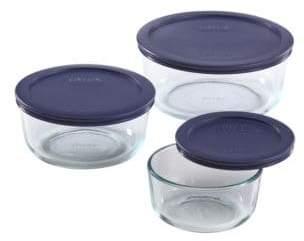 Pyrex 6-Piece Round Storage Set