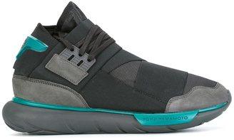 Y-3 'Qasa High' sneakers $410 thestylecure.com