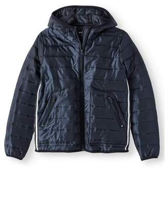 NORTH ZONE Puffer jacket with side stripe (big boys)