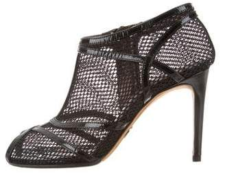 Dolce & Gabbana Caged Peep-Toe Booties
