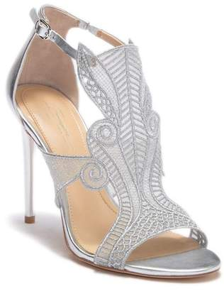 Vince Camuto Imagine Rashi Leather Embroidered Pump