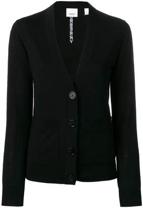 Burberry button-front cardigan