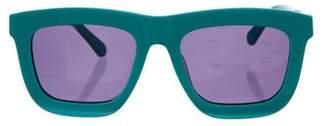 Karen Walker Deep Warship Square Sunglasses w/ Tags