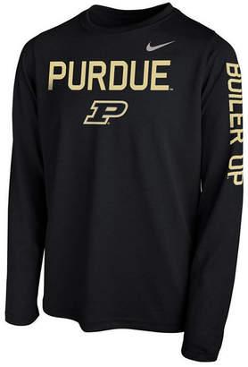 Nike Purdue Boilermakers Legend Long Sleeve T-Shirt, Big Boys (8-20)