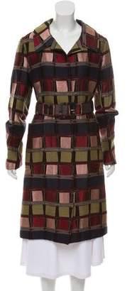 Marni Patterned Long Coat