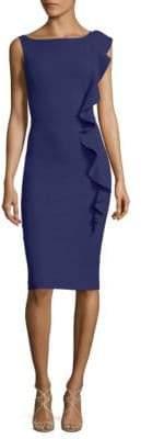 Chiara Boni Ruffled Sheath Dress