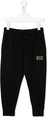 DSQUARED2 sequin logo joggers