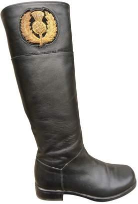 Stuart Weitzman Leather riding boots