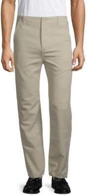 Balenciaga Utility Slim-Fit Cotton Pants
