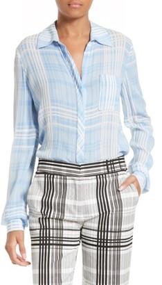 Women's Diane Von Furstenberg Carter Blouse $248 thestylecure.com