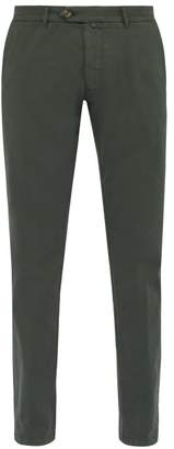 J.w.brine J.W. Brine J.w. Brine - James Stretch Cotton Chino Trousers - Mens - Green