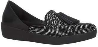 FitFlop Crystal Embellished D'Orsay Superskate Loafers