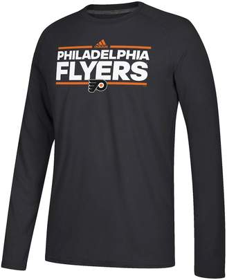 adidas Men's Philadelphia Flyers Dassler Long-Sleeved Tee
