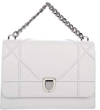 Christian Dior 2016 Diorama Leather Satchel