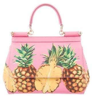Dolce & Gabbana 2017 Mini Sicily Pineapple Bag