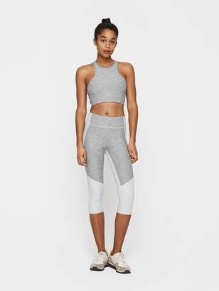 Outdoor Voices Two-Tone Kneecap Leggings