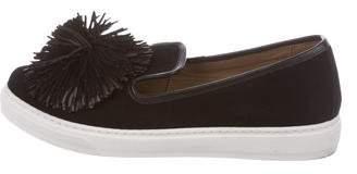 Sonia Rykiel Suede Slip-On Sneakers
