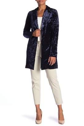 Bobeau B Collection by Jame Velvet Jacket
