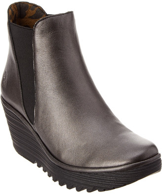 Fly London Yoss Wedge Bootie