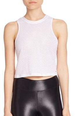 Muscle Cropped Tank Top