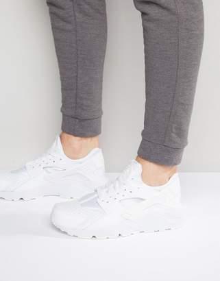 Nike Huarache Sneakers In White 318429-111