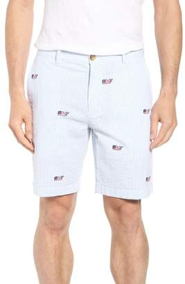 Vineyard Vines Seersucker Whale Shorts