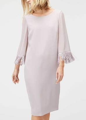 Jacques Vert Tassel Sleeve Shift Dress