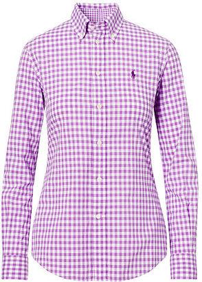 Polo Ralph Lauren Slim Fit Gingham Shirt $98.50 thestylecure.com