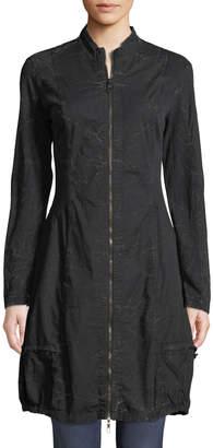 XCVI Winifred Zip-Front Poplin Jacket