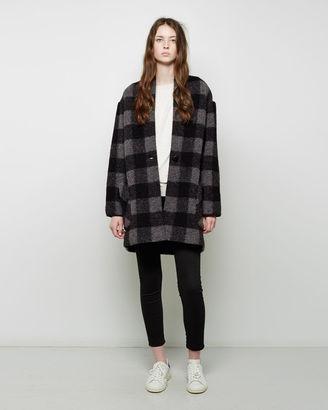 Isabel Marant Étoile Gabrie Coat $470 thestylecure.com