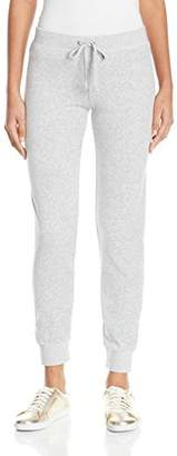Juicy Couture Black Label Women's Velour Zuma Jogger Pant,L
