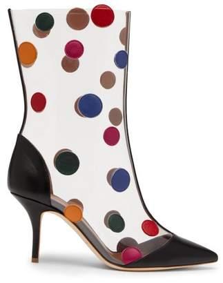 Malone Souliers X Ungaro Katoucha Ankle Boots - Womens - Black Multi