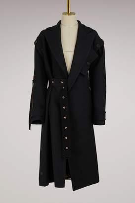 Proenza Schouler Asymmetrical wool coat