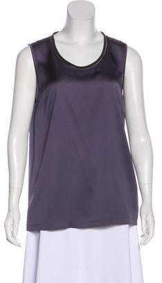 Fabiana Filippi Silk Sleeveless Top