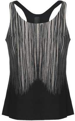 Norma Kamali Printed Stretch Top