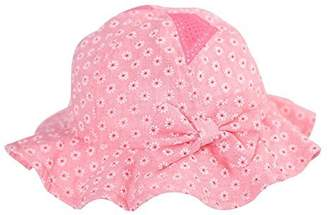 Gongzhumama Baby Girl's Sun Hat with Hair Bow Sun Protection Hat