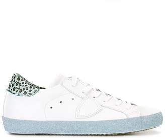 Philippe Model glitter sole sneakers