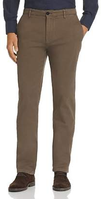 Canali Brushed-Twill Classic Fit Pants