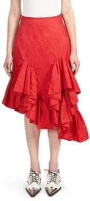 Marques Almeida Marques'Almeida Melted Ruffle Skirt