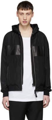 Mackage Black Weston Hooded Jacket