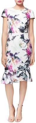 Betsey Johnson Floral Scuba Dress