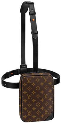 Louis Vuitton Utility Side Bag Monogram Brown