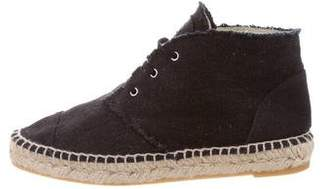 Chanel Denim Espadrille Sneakers