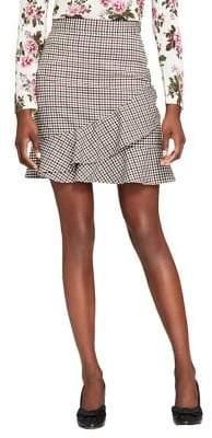 Brooks Brothers Stretch Ruffle Skirt