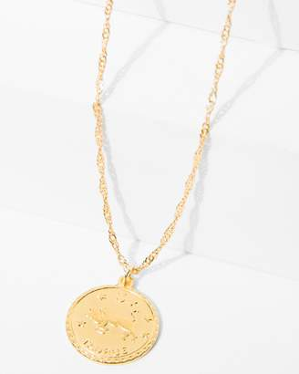 7 For All Mankind CAM Taurus Necklace in Gold