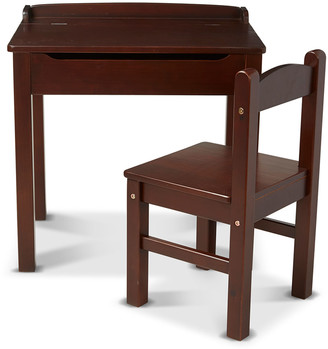 Melissa & Doug Kids' Wooden Lift-Top Desk w/ Chair