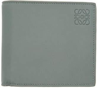 Loewe Blue Anagram Bifold Wallet